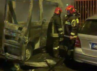 Martina Franca, a fuoco due ambulanze. Indagini in corso
