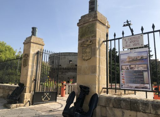 Castello Aragonese, presenze record ad aprile