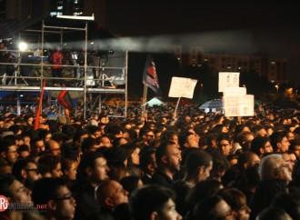 Uno maggio Taranto, pioggia, musica e passione