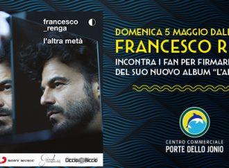 "Francesco Renga a Taranto per presentare il nuovo album <span class=""dashicons dashicons-calendar""></span> <span class=""dashicons dashicons-location""></span>"