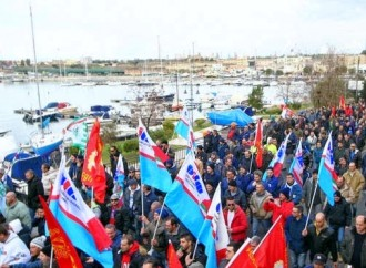 Taranto, Mezzogiorno, Europa, l'1 maggio di Cgil, Cisl, Uil