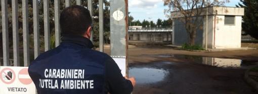 Falda avvelenata e acqua contaminata, sequestrato depuratore