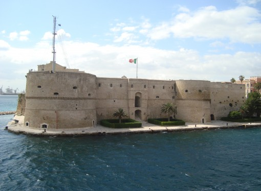 Clamorosa scoperta archeologica al Castello Aragonese di Taranto