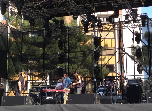 Fabi e Silvestri provano i pezzi, a Taranto è già delirio