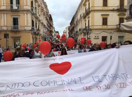 No all'affidamento di due asili comunali, il comitato: il 16 settembre manifestazione a Taranto