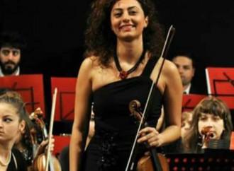 La De Geronimo stasera a Taormina, un violino di Taranto per la Cavalleria Rusticana