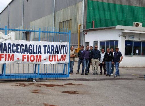 TARANTO – Marcegaglia, la vertenza dimenticata da tutta la politica