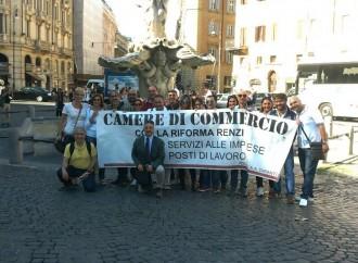 Camera di commercio, occupazione a rischio. Anche Taranto manifesta a Roma