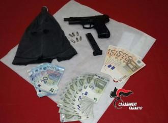 Taranto, coraggioso cittadino blocca un rapinatore e lo fa arrestare