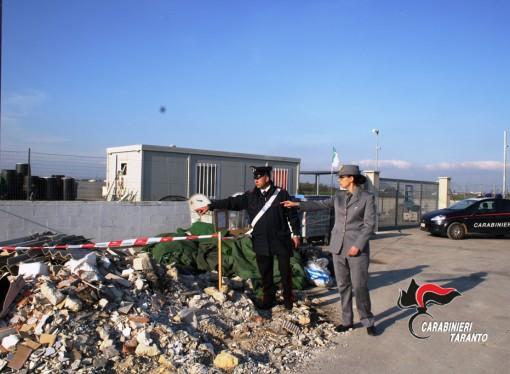 Scoperta discarica di rifiuti pericolosi
