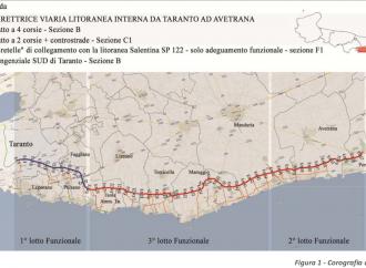 Strada Taranto/Avetrana, a rischio 193 milioni