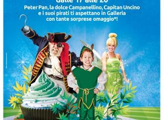 Peter Pan vola al Centro commerciale Auchan Taranto