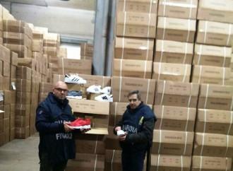 Invasi dal falso, sequestrati in Puglia 6 milioni di pezzi contraffatti