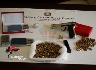 Taranto, armi e droga nella città vecchia