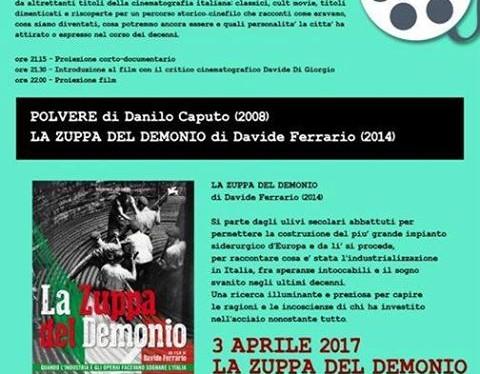 Girati a Taranto, stasera il dramma ambientale in due pellicole