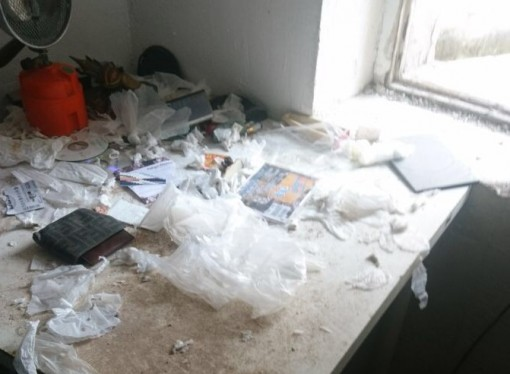 Laboratorio per eroina e cocaina, irruzione dei carabinieri in un appartamento di Taranto