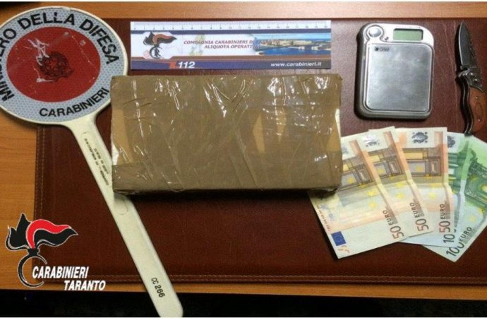Taranto, rione Tamburi crocevia dello spaccio. 13 arresti
