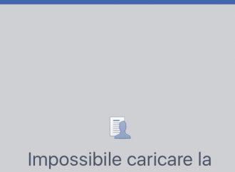 Melucci, primo atto: via da Facebook