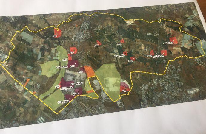 Statte, ai confini dell'Ilva: ecco la mappa della contaminazione
