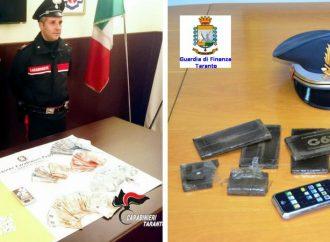 Natale… stupefacente. Doppio sequestro di droga a Taranto