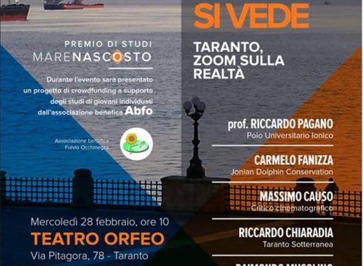 """""""Da lontano non si vede"""", Taranto secondo il cinema, la fotografia e le parole"""