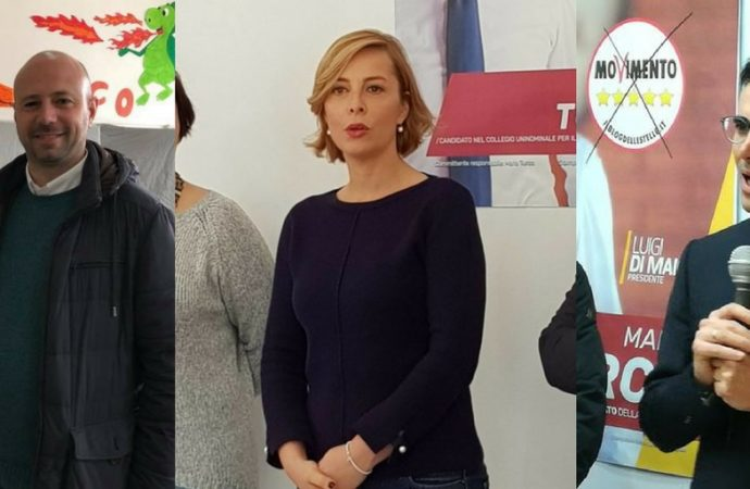 Onorevoli Cinque Stelle,  a Taranto Forza Italia e Pd spazzati via