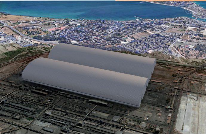 Cimolai a Confindustria Taranto: Così stiamo coprendo i parchi Ilva