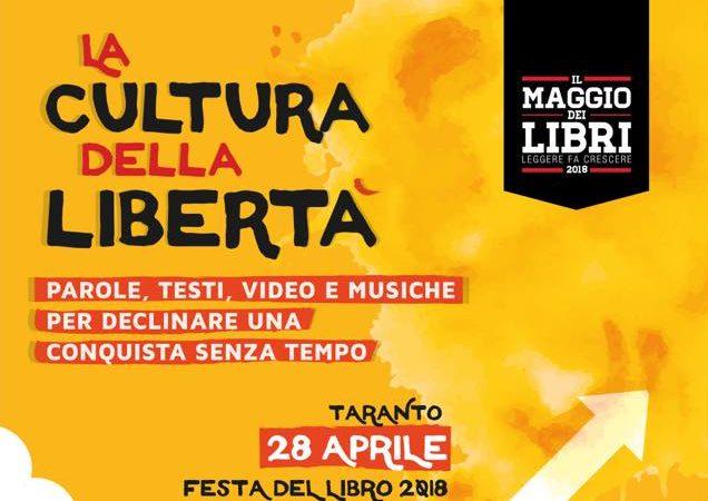 Festa del Libro, sabato a Taranto si legge e si canta la libertà