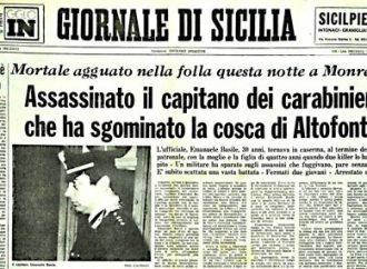 Monreale ricorda Emanuele Basile, ucciso 38 anni fa da Cosa Nostra. Taranto distratta