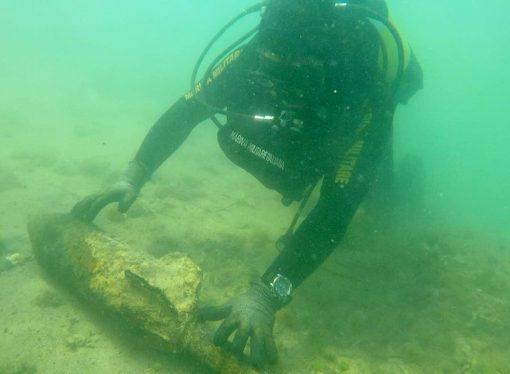 Taranto, ordigno bellico in Mar Piccolo: 16 kg di tritolo ancora attivo