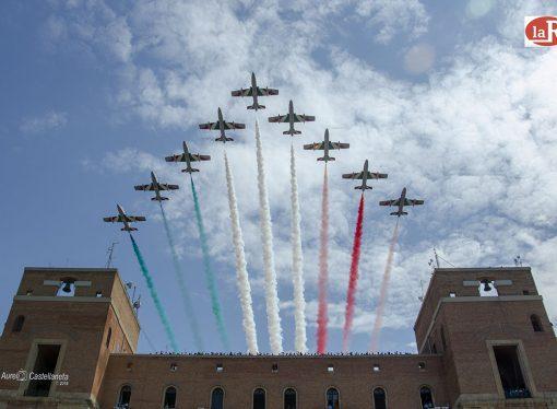 Sabato a Taranto il sorvolo delle Frecce Tricolori