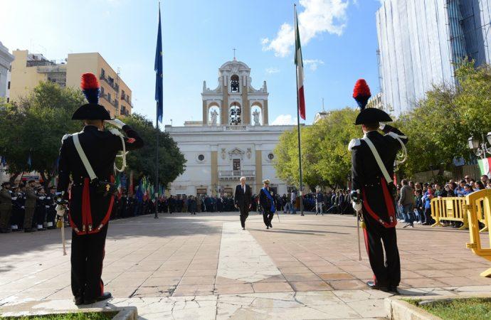 Taranto, cerimonia in piazza della Vittoria e caserme aperte per il 4 novembre