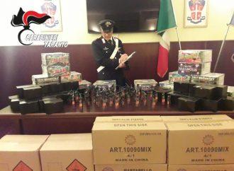 Botti vietati in salumeria, un arresto a Taranto