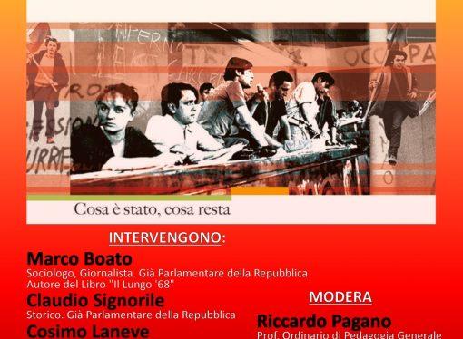"""Quel Sessantotto di 50 anni fa, ne parla Boato <span class=""""dashicons dashicons-calendar""""></span>"""