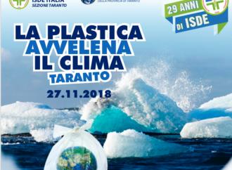 Plastica, emergenza planetaria. Convegno di Isde e Ispra a Taranto