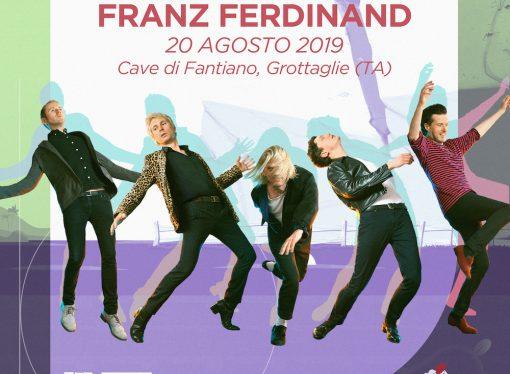 Colpaccio del Cinzella Festival, Franz Ferdinand live a Taranto