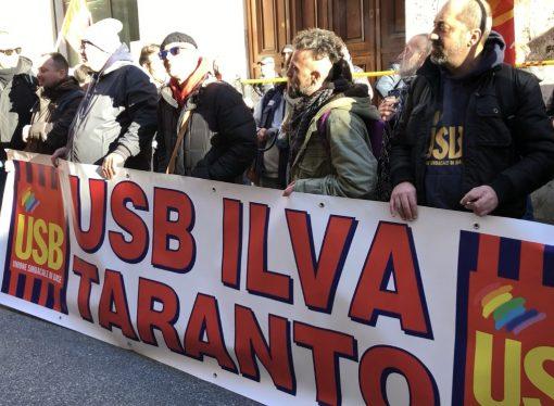 Usb chiede l'intervento del Mise sulle assunzioni degli ex Ilva di Taranto