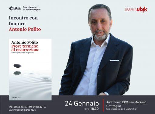 """Incontro con l'autore, Antonio Polito si racconta <span class=""""dashicons dashicons-calendar""""></span>"""