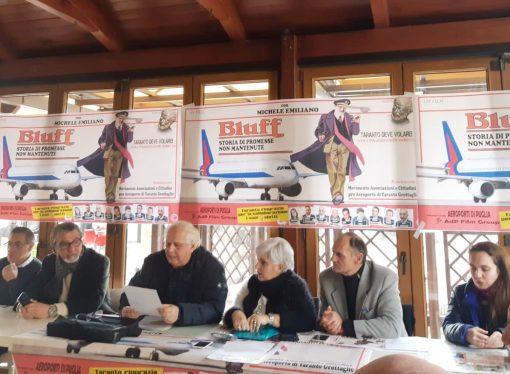 Movimenti pro aeroporto di Taranto: delusi dal bluff della politica
