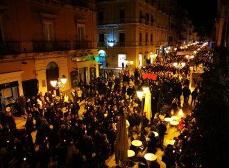 La marcia nel silenzio, Taranto c'è