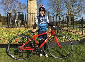 Bici per i più poveri, la baby star del ciclismo alla Granfondo Stelvio Santini