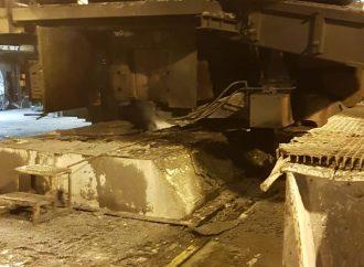 Acciaio incandescente sull'impianto, incidente al siderurgico di Taranto