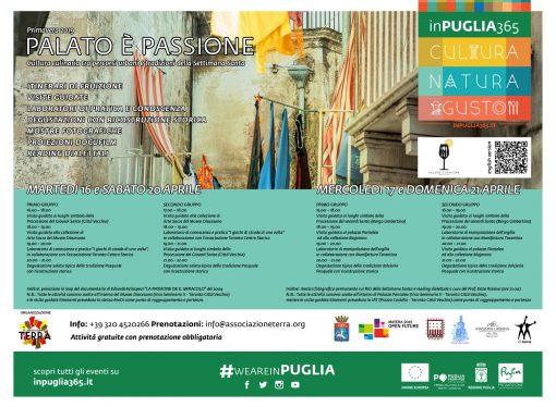 """""""Palato è Passione"""", il progetto entra nel vivo <span class=""""dashicons dashicons-calendar""""></span>"""