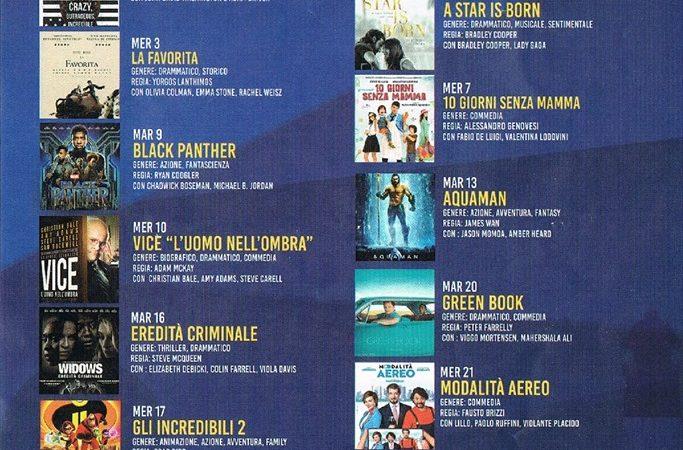Cinema all'aperto, i cartelloni estivi