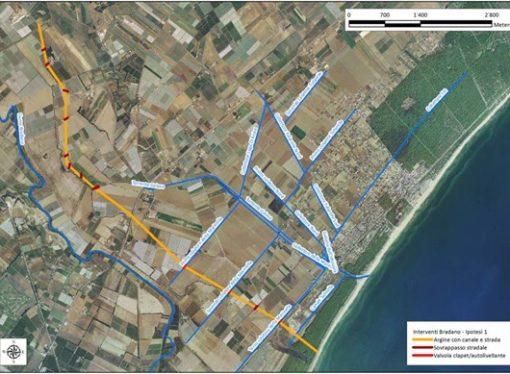 Marina di Ginosa, arrivano 11 mln contro il dissesto idrogeologico