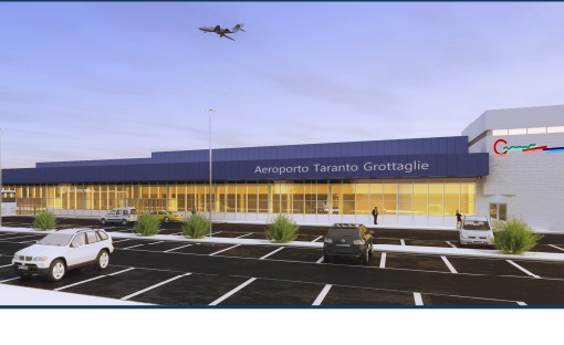 Aeroporto Taranto/Grottaglie, a giorni l'appalto per l'aerostazione