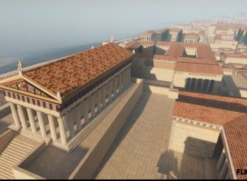 Taranto antica in 3D, il video