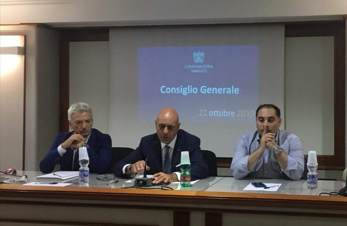 Confindustria, dialogo aperto con il sindaco di Taranto