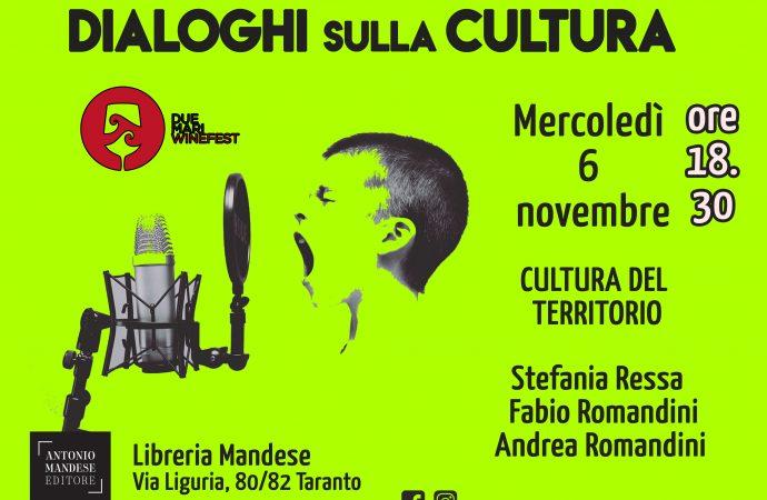 Dialoghi sulla cultura, l'autunno targato Mandese
