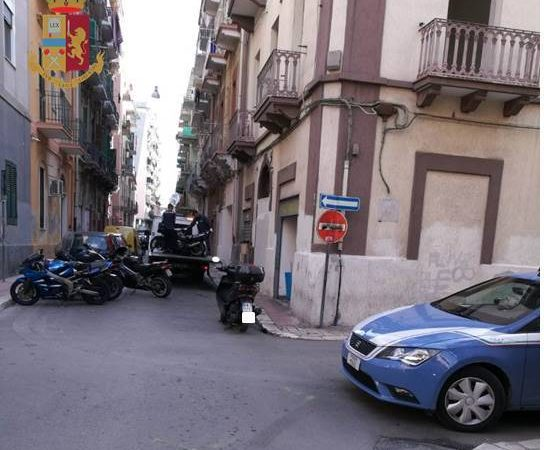 Un garage di moto rubate